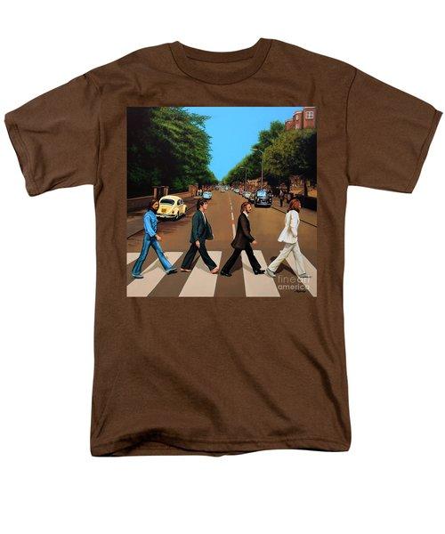 The Beatles Abbey Road Men's T-Shirt  (Regular Fit) by Paul Meijering