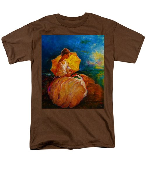Men's T-Shirt  (Regular Fit) featuring the painting The Beautiful Outdoors by Emery Franklin