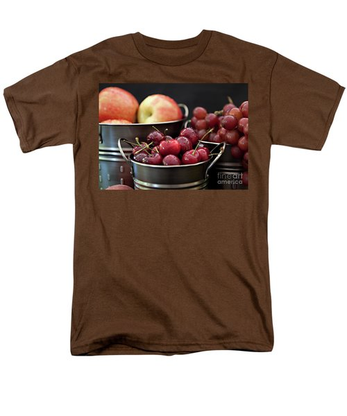 Men's T-Shirt  (Regular Fit) featuring the photograph The Beauty Of Fresh Fruit by Sherry Hallemeier