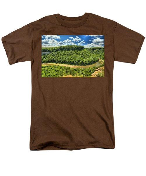 The Big Bend Men's T-Shirt  (Regular Fit) by Adam Jewell