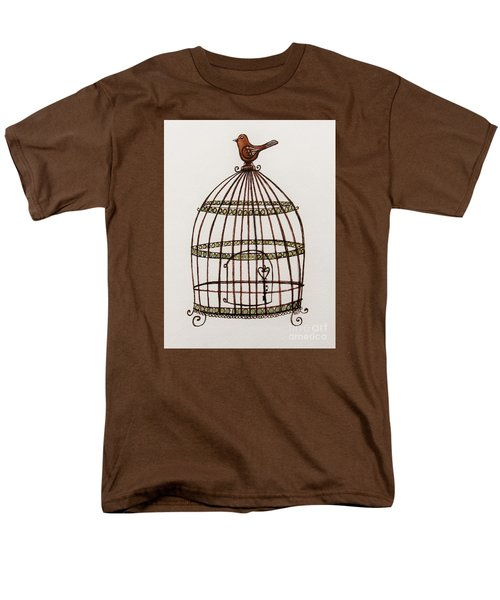 The Birdcage Men's T-Shirt  (Regular Fit) by Elizabeth Robinette Tyndall