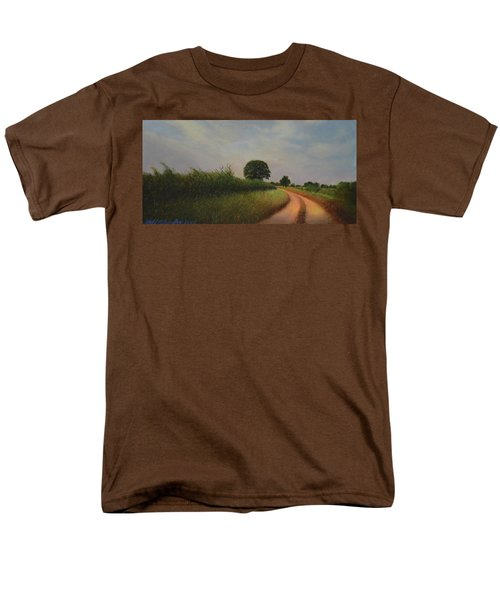 The Brighter Road Ahead Men's T-Shirt  (Regular Fit) by Blue Sky