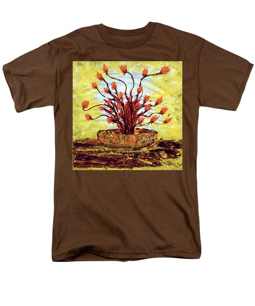 The Burning Bush Men's T-Shirt  (Regular Fit) by J R Seymour