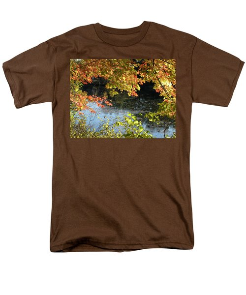 The Colors Of Fall Men's T-Shirt  (Regular Fit) by Tara Lynn