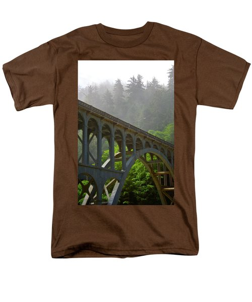 The Crossing Men's T-Shirt  (Regular Fit) by Laddie Halupa