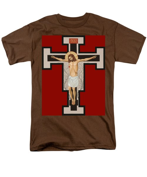 The Crucified Lord 017 Men's T-Shirt  (Regular Fit) by William Hart McNichols