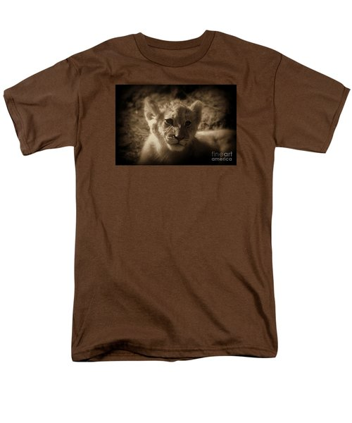 Men's T-Shirt  (Regular Fit) featuring the photograph The Cub by Lisa L Silva