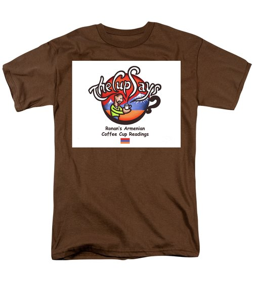 The Cup Says Logo Men's T-Shirt  (Regular Fit) by Renee Womack