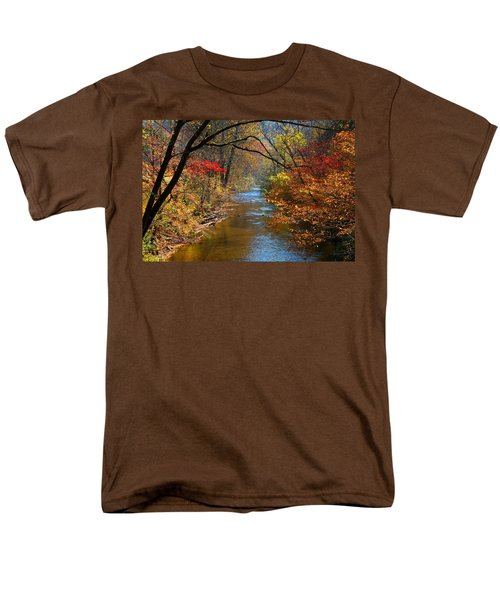 The Dan River Men's T-Shirt  (Regular Fit) by Kathryn Meyer
