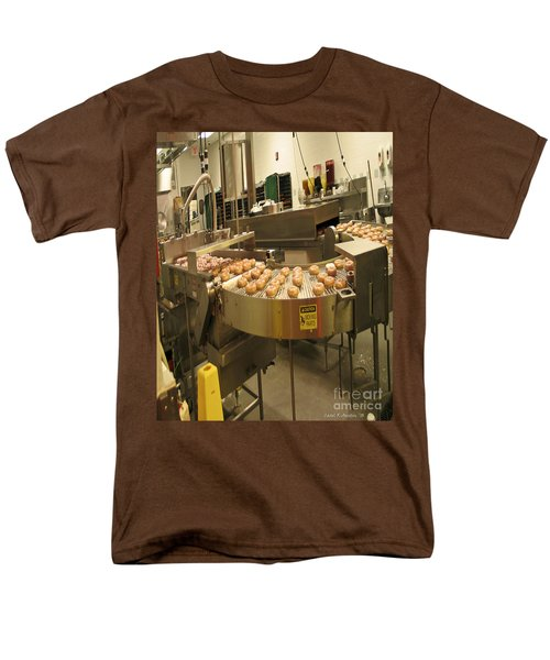 The Doughnut Machine Men's T-Shirt  (Regular Fit) by Carol F Austin