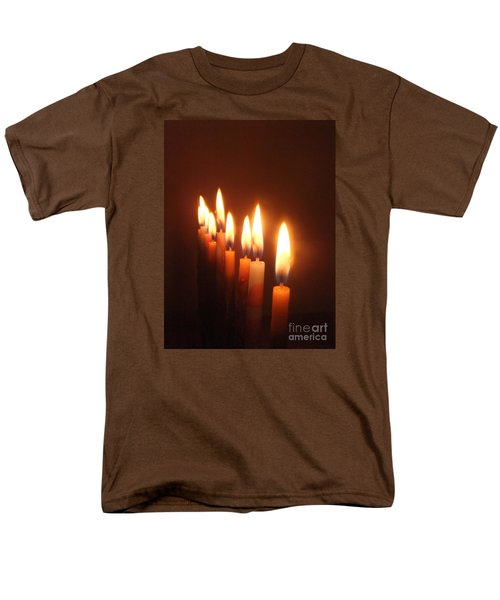 The Festival Of Lights Men's T-Shirt  (Regular Fit) by Annemeet Hasidi- van der Leij