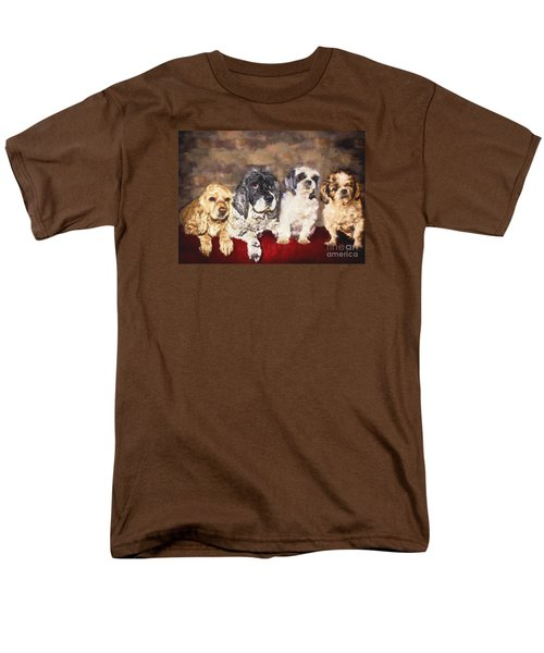 The Four Amigos Men's T-Shirt  (Regular Fit) by Janice Rae Pariza