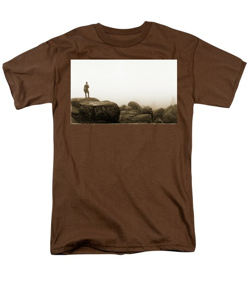 The General's View Men's T-Shirt  (Regular Fit) by Jan W Faul