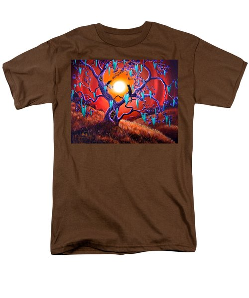 The Halloween Tree Men's T-Shirt  (Regular Fit) by Laura Iverson