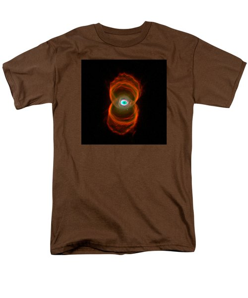 The Hourglass Nebula  Men's T-Shirt  (Regular Fit) by Hubble Space Telescope