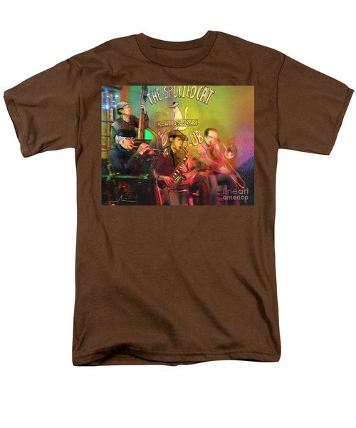 The Jazz Vipers In New Orleans 02 Men's T-Shirt  (Regular Fit) by Miki De Goodaboom