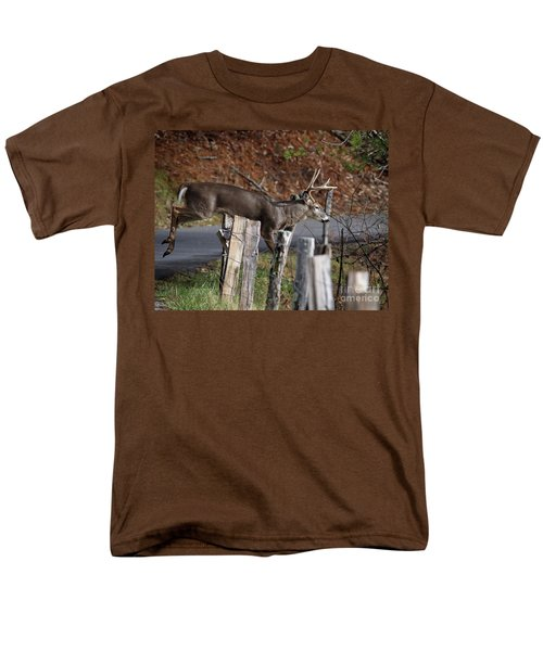 The Jumper 2 Men's T-Shirt  (Regular Fit) by Douglas Stucky