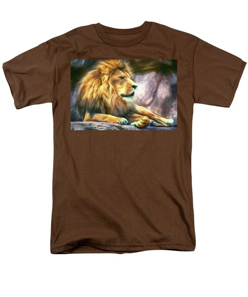 The King Of Cool Men's T-Shirt  (Regular Fit) by Tina LeCour