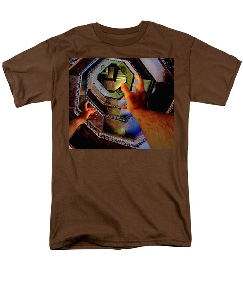 Men's T-Shirt  (Regular Fit) featuring the photograph The Landing by Christopher Woods