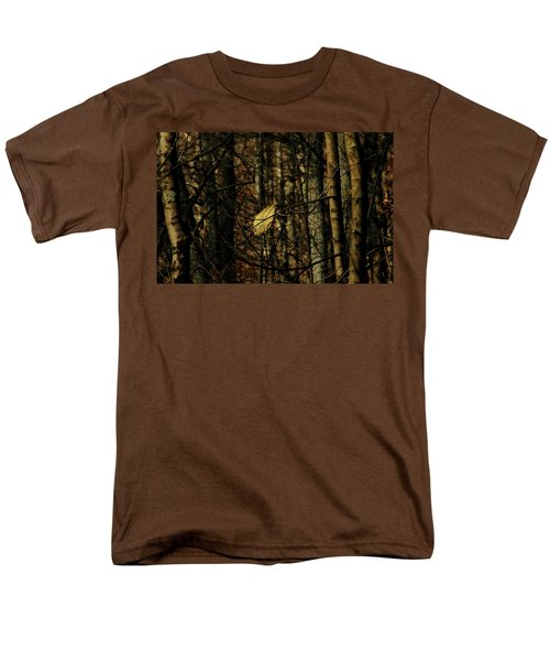 The Last Leaf Men's T-Shirt  (Regular Fit) by Bruce Patrick Smith