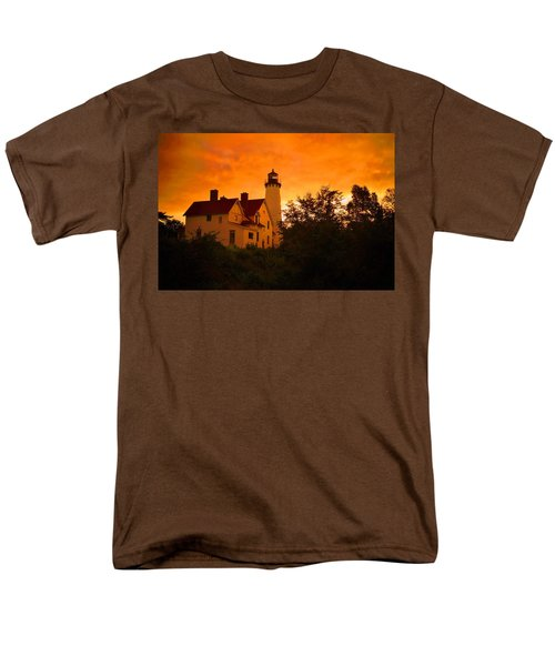 The Light At Dusk Men's T-Shirt  (Regular Fit) by Daniel Thompson