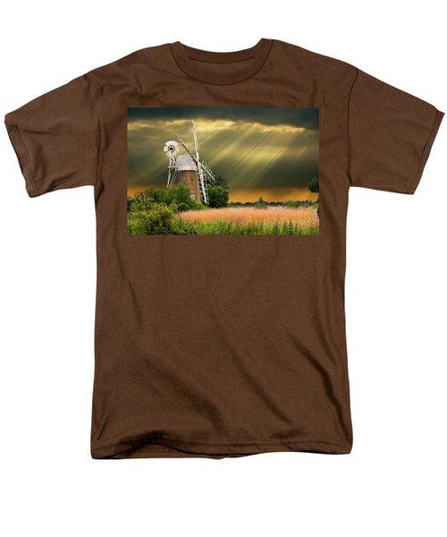 The Mill On The Marsh Men's T-Shirt  (Regular Fit) by Meirion Matthias