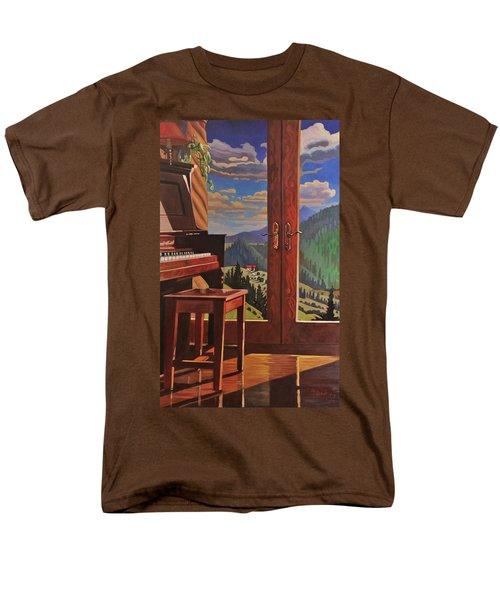 The Music Room Men's T-Shirt  (Regular Fit) by Art West