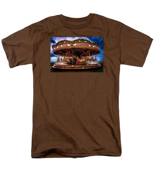 Men's T-Shirt  (Regular Fit) featuring the photograph The Mystical Dragon Chariot by Chris Lord