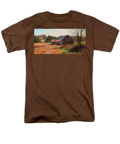 The Neighbor's Barn Men's T-Shirt  (Regular Fit) by Bonnie Mason