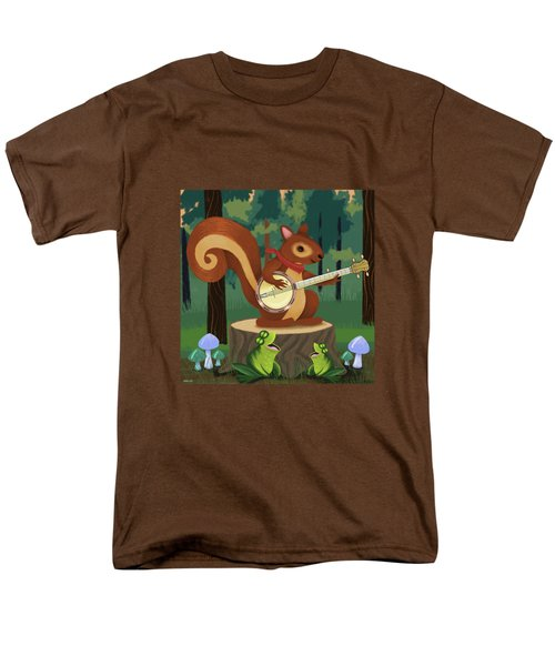 The Nutport Croak Music Festival Men's T-Shirt  (Regular Fit) by Little Bunny Sunshine