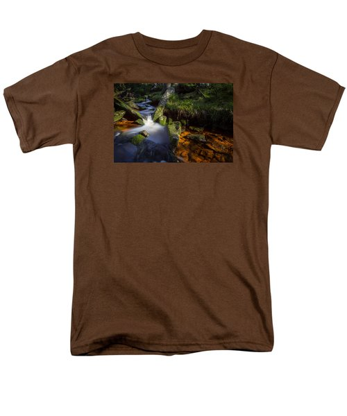 the Oder in the Harz National Park Men's T-Shirt  (Regular Fit) by Andreas Levi