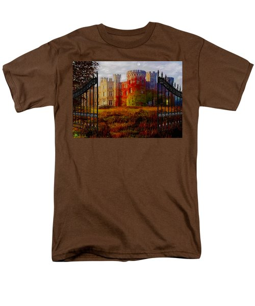 The Old Haunted Castle Men's T-Shirt  (Regular Fit) by Michael Rucker