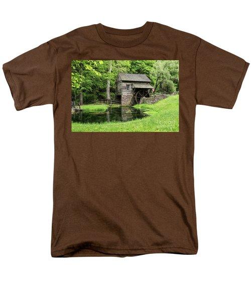 The Old Mill Men's T-Shirt  (Regular Fit) by Nicki McManus