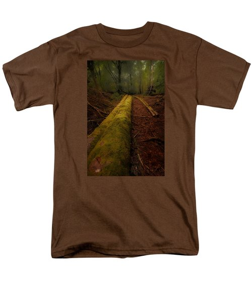 The Old Mossy Trunk Men's T-Shirt  (Regular Fit)