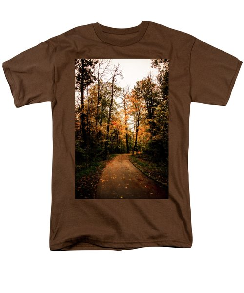 The Path Men's T-Shirt  (Regular Fit) by Annette Berglund