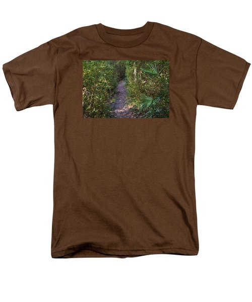 The Path Of Life Men's T-Shirt  (Regular Fit) by Kenneth Albin