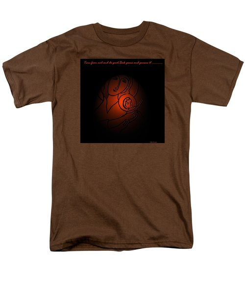 Men's T-Shirt  (Regular Fit) featuring the digital art The Prince Of Peace by Latha Gokuldas Panicker
