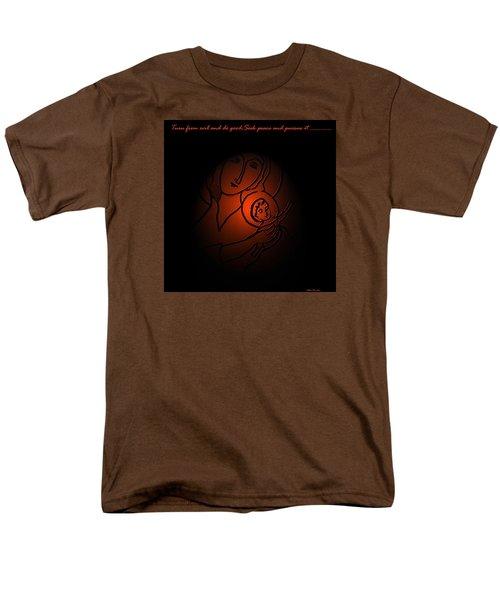 The Prince Of Peace Men's T-Shirt  (Regular Fit) by Latha Gokuldas Panicker