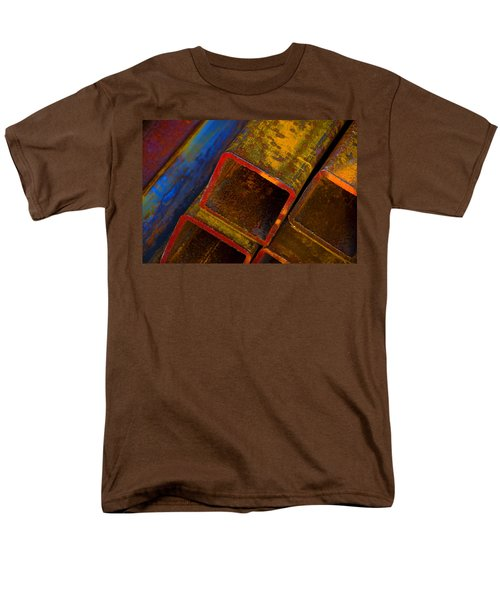 Men's T-Shirt  (Regular Fit) featuring the photograph The River by Skip Hunt