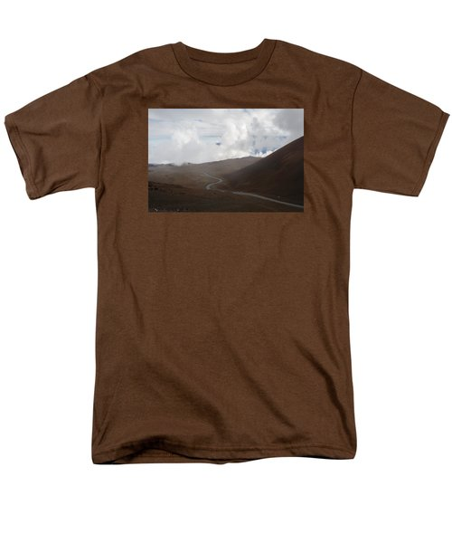 Men's T-Shirt  (Regular Fit) featuring the photograph The Road To The Snow Goddess by Ryan Manuel