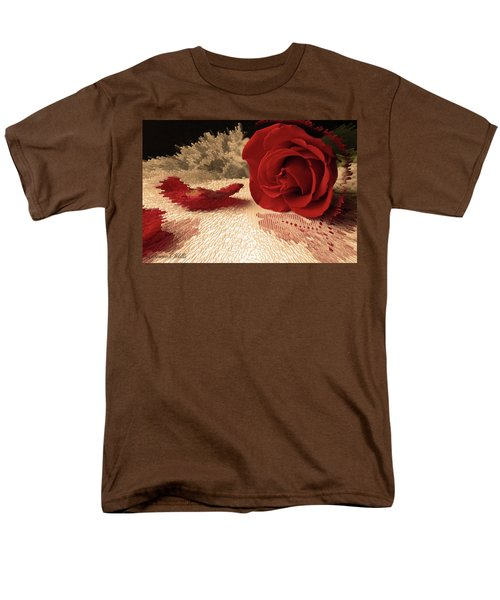 The Rose Men's T-Shirt  (Regular Fit) by Bonnie Willis