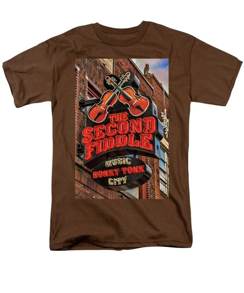 Men's T-Shirt  (Regular Fit) featuring the photograph The Second Fiddle Nashville by Stephen Stookey