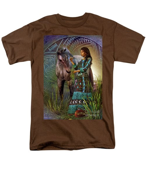 The Horse Whisperer Men's T-Shirt  (Regular Fit) by Shadowlea Is