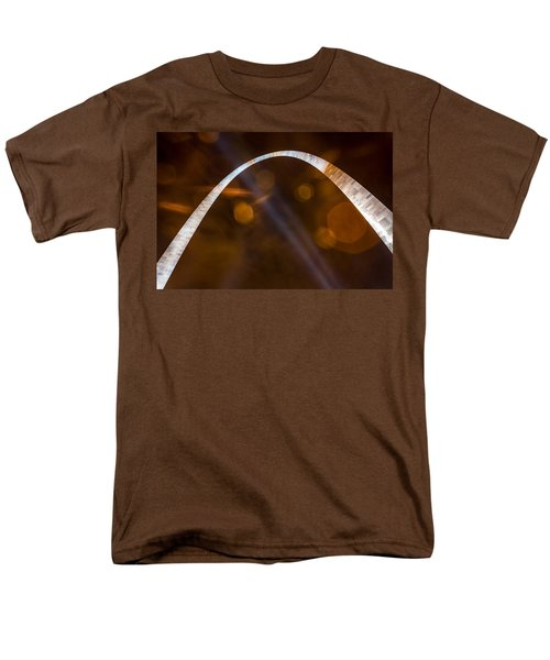 The Silver Gateway Arch Men's T-Shirt  (Regular Fit) by Semmick Photo