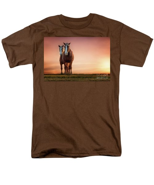 The Stallion And The Mare II Men's T-Shirt  (Regular Fit) by Tamyra Ayles