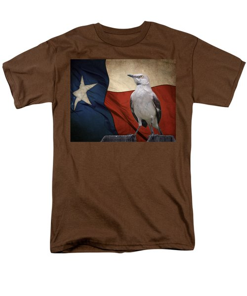 The State Bird Of Texas Men's T-Shirt  (Regular Fit) by David and Carol Kelly