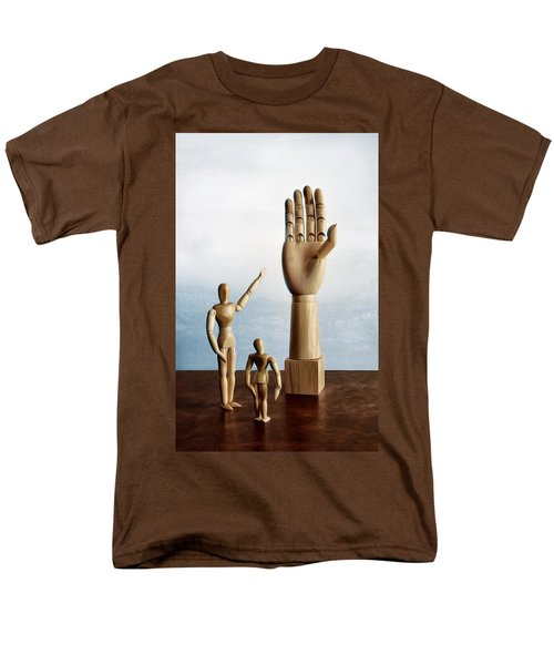 Men's T-Shirt  (Regular Fit) featuring the photograph The Story Of The Creator by Mark Fuller