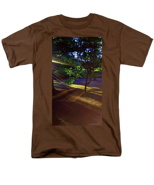 The Sunset Grove  Men's T-Shirt  (Regular Fit) by Karl Reid