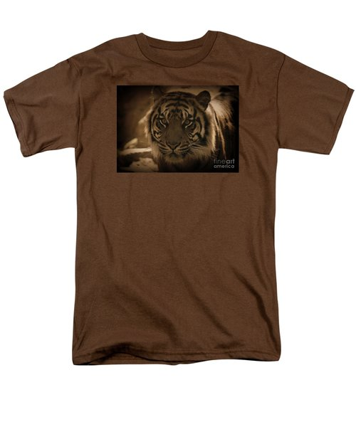 Men's T-Shirt  (Regular Fit) featuring the photograph The Tiger by Lisa L Silva