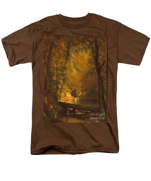 The Trout Pool Men's T-Shirt  (Regular Fit) by John Stephens